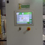 Robot palletising control cabinet